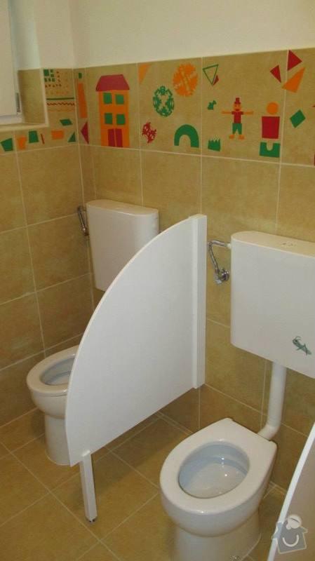 Rekonstrukce objektu MŠ Bludovice: toaletky_I