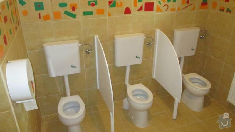 Rekonstrukce objektu MŠ Bludovice: toaletky