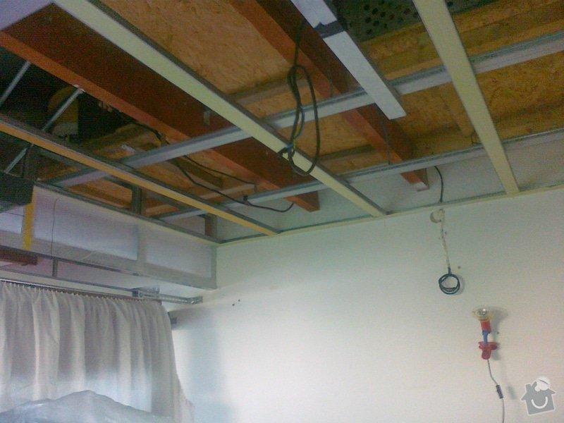 Sádrokartonový strop + příčka cca 20m2: 080920141598