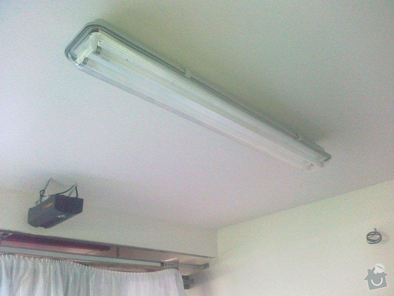 Sádrokartonový strop + příčka cca 20m2: 180920141623