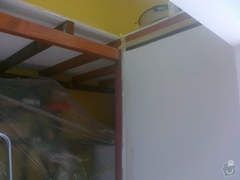 Sádrokartonový strop + příčka cca 20m2: 180920141620