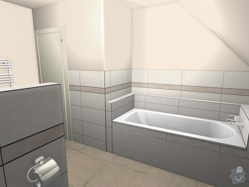 Obložení koupelny: Machackovi_-_koupelna_-_LeMarais-01_-_upravy_20140910_3