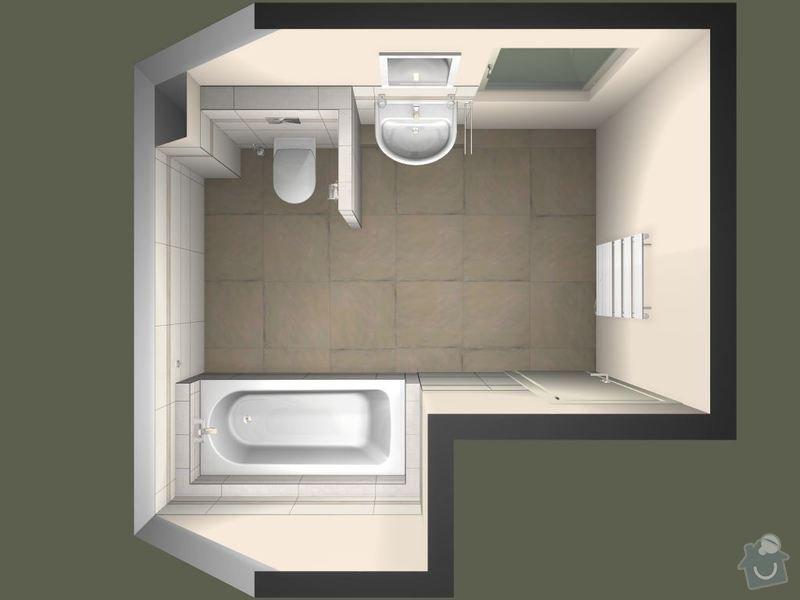 Obložení koupelny: Machackovi_-_koupelna_-_LeMarais-01_-_upravy_20140910