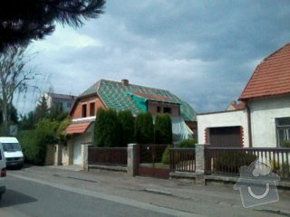 Realizace střechy na klíč včetně demoličních prací na RD v Suchdole: 019