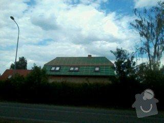 Realizace střechy na klíč včetně demoličních prací na RD v Suchdole: 024