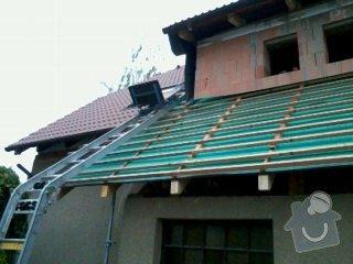 Realizace střechy na klíč včetně demoličních prací na RD v Suchdole: 030