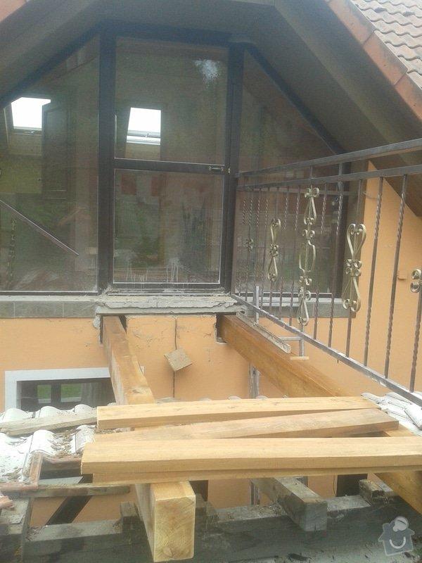 Rekonstrukce/oprava mostku u rodinneho domu: 20140919_113818