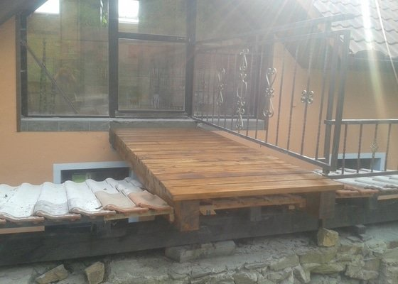 Rekonstrukce/oprava mostku u rodinneho domu
