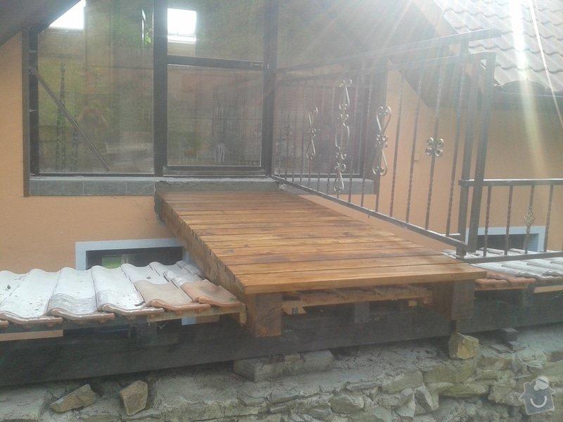 Rekonstrukce/oprava mostku u rodinneho domu: 20140919_161818