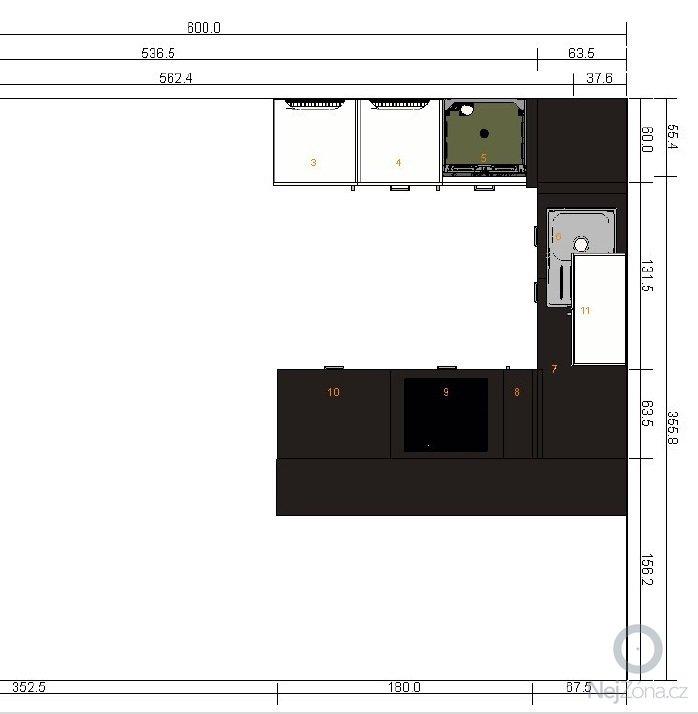 Montáž kuchyně z IKEA: kadera_kuchyn