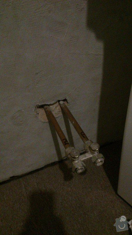 Předělání trubek na koupelnový radiátor: DSC_0348