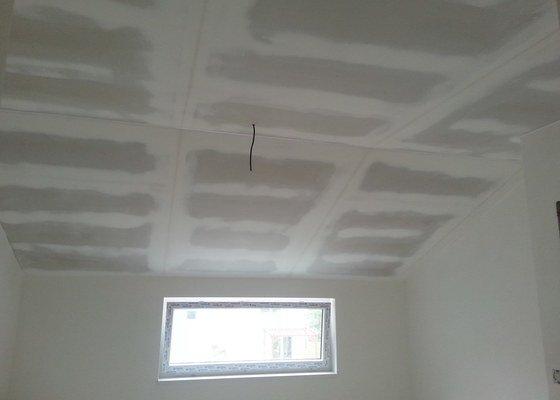 Sádrokarton - strop