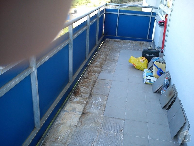 Oprava balkonové dlažby: DSC_0595