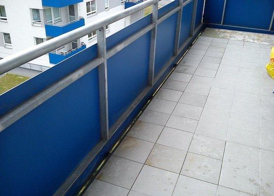 Oprava balkonové dlažby