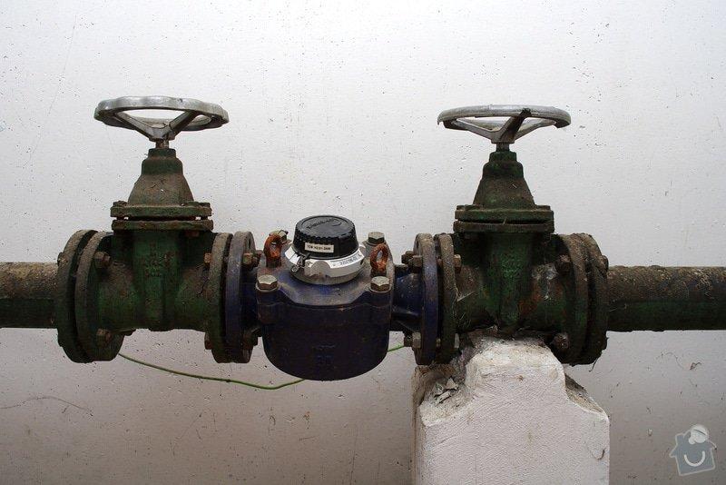 Oprava uzávěrů vodovodu: C