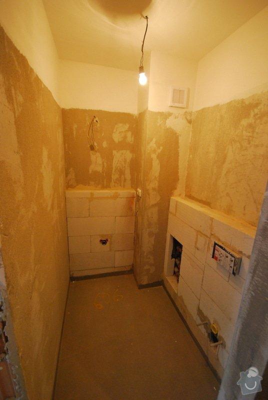 Osazení sanity, obložení a vymalování koupelny: DSC_0172