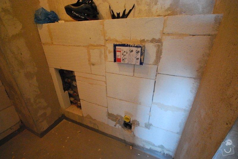 Osazení sanity, obložení a vymalování koupelny: DSC_0835