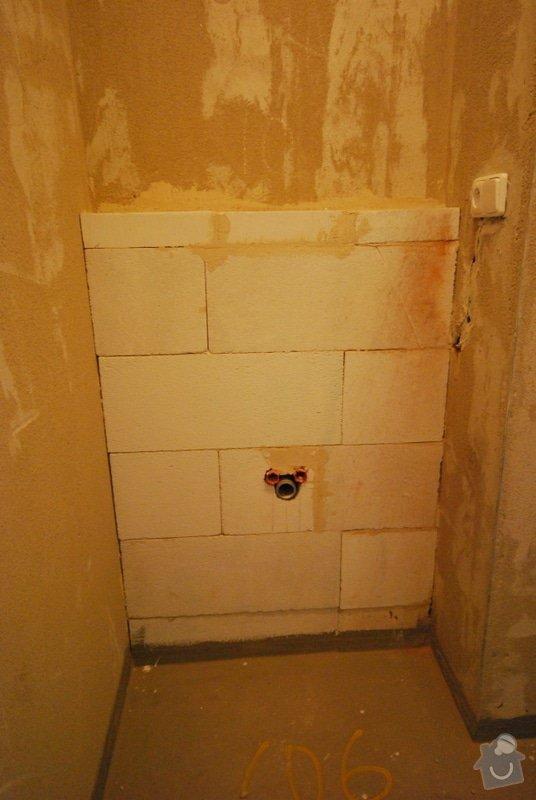 Osazení sanity, obložení a vymalování koupelny: DSC_0836