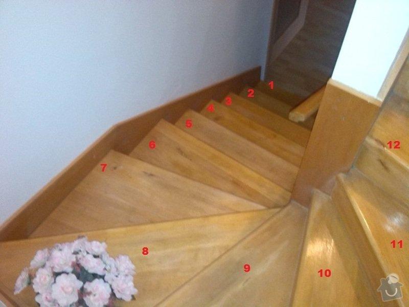 Renovace (oprava) starých schodů: 2