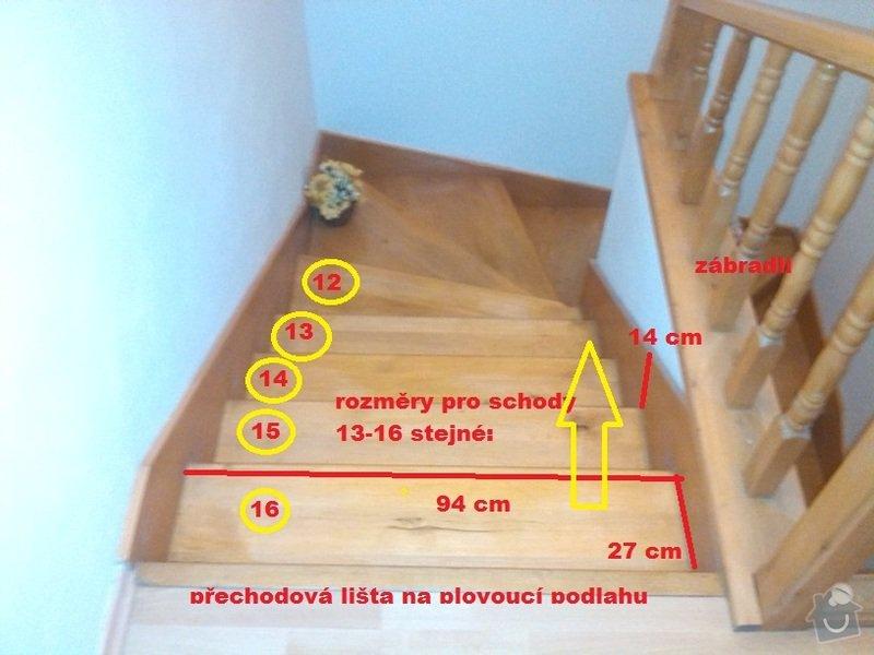 Renovace (oprava) starých schodů: 6