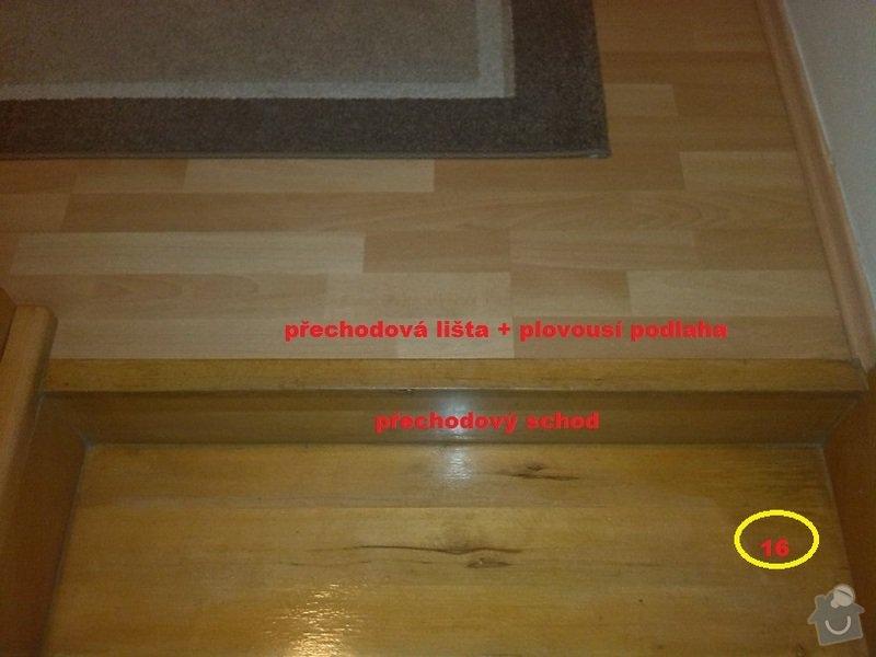 Renovace (oprava) starých schodů: 9