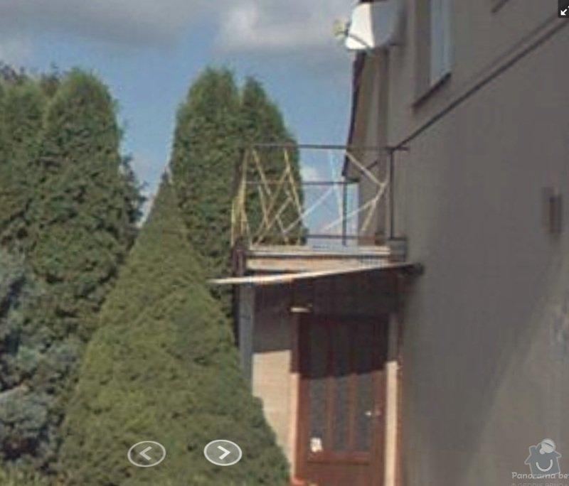Pokládka dlažby, izolace.: balkon