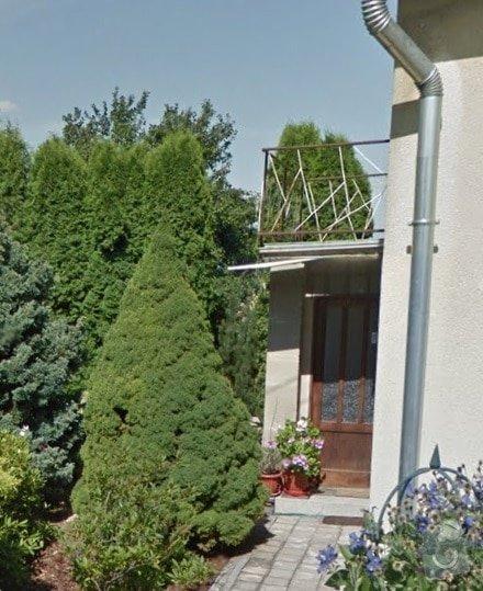 Pokládka dlažby, izolace.: balkon1