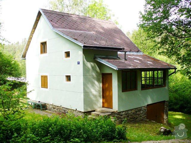 Rekonstrukce střechy: chata