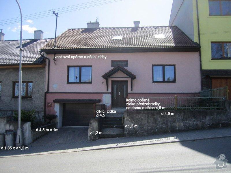 Nové zídky předzahrádky a odvětraný sokl domu: IMG_1555