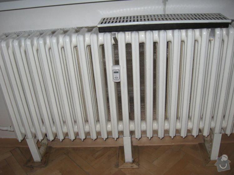 Výměna radiátoru: radiator