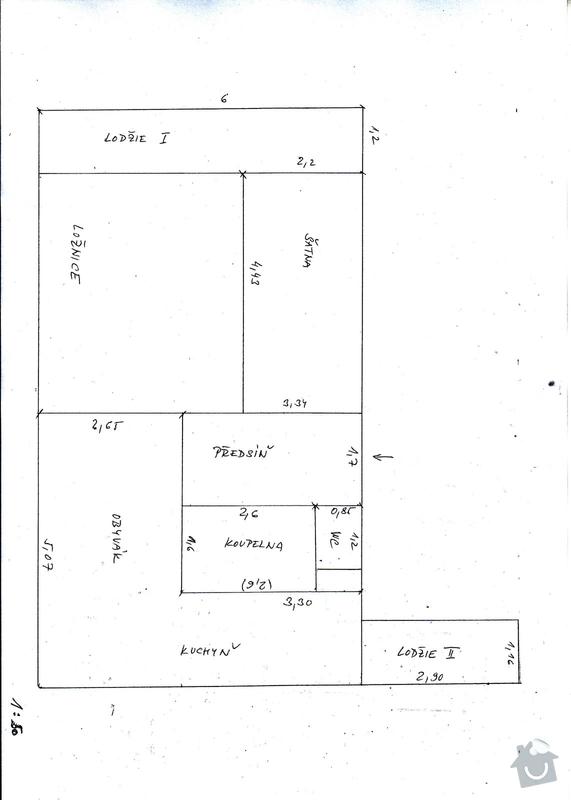 Rekonstrukce bytového jádra: planek
