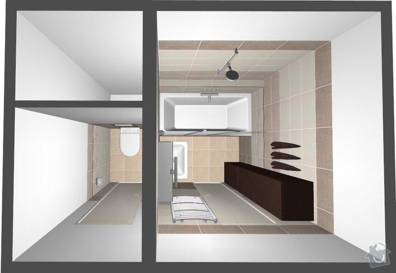 Rekonstrukce bytového jádra a kuchyně: foto1