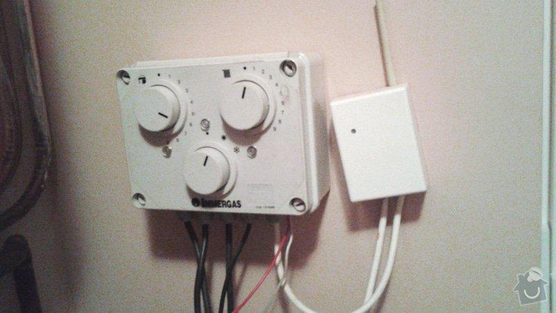 Nastavení a seřízení systému topení v domě: ovladac