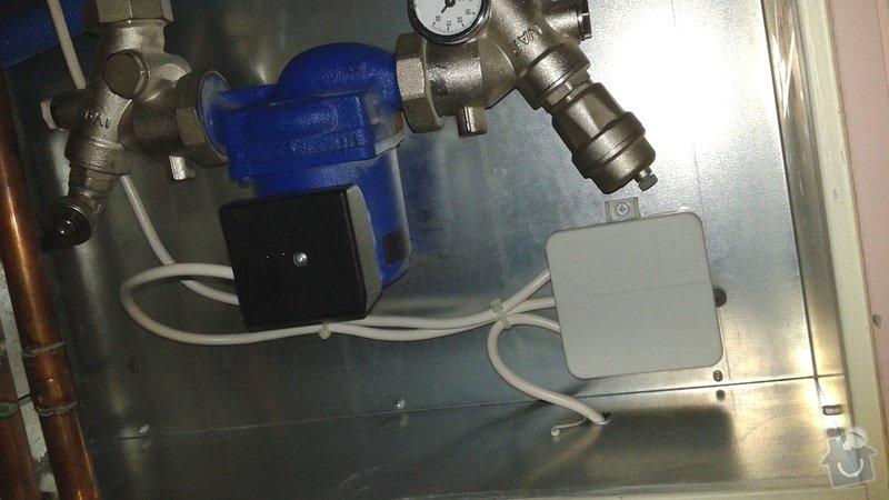 Nastavení a seřízení systému topení v domě: podlaha_cerpadlo