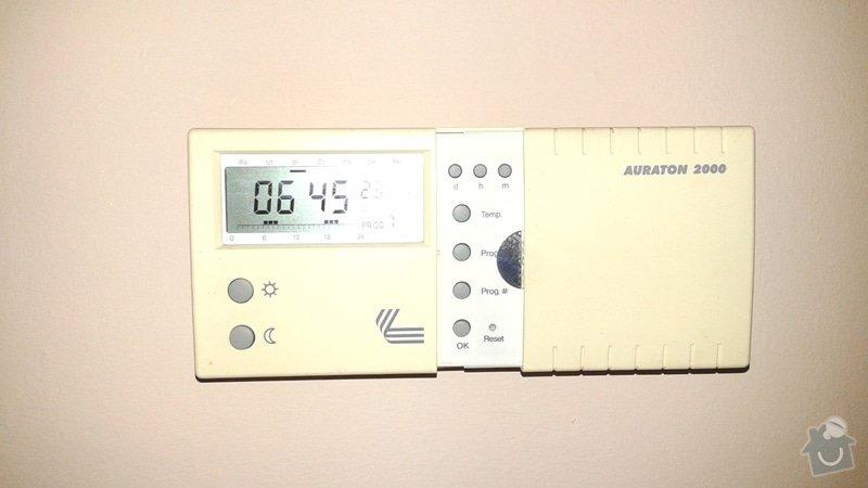 Nastavení a seřízení systému topení v domě: termostat_obyvak