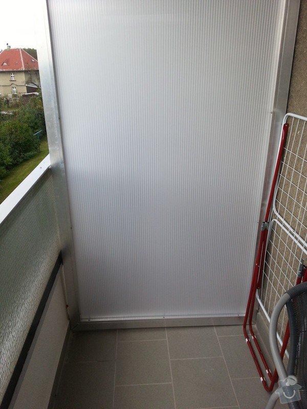 Zasklení balkonu: WP_20140923_004