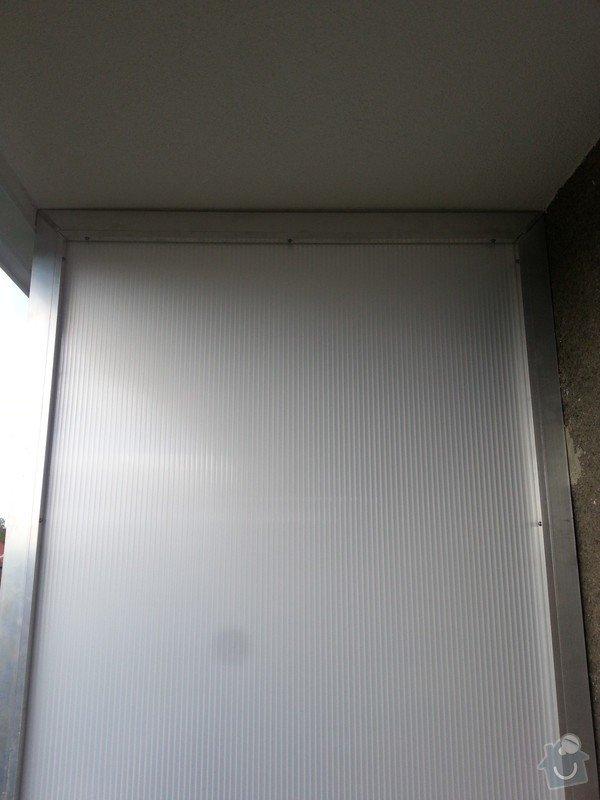 Zasklení balkonu: WP_20140923_005
