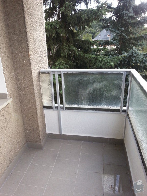 Zasklení balkonu: WP_20140923_007