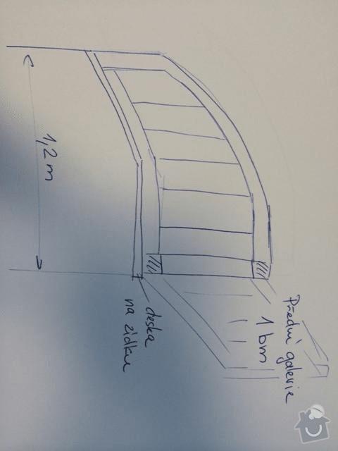 Dřevěné zábradlí + madla: zabradli