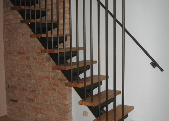 Zhotovení schodů