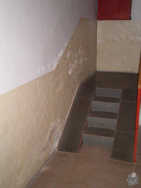Opravy omítek v suterénu dvou domů: P9221646
