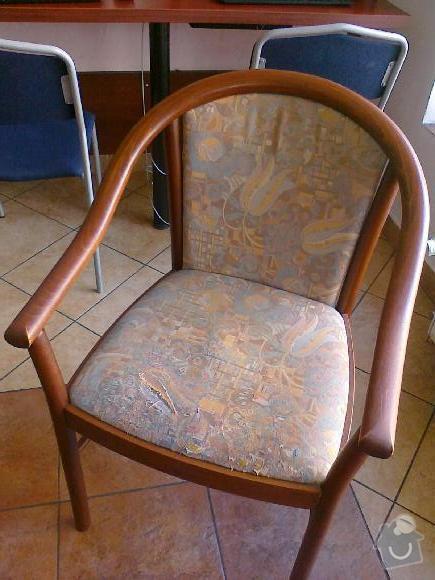 Potažení křesel (2+4) a židlí (25): kresilko
