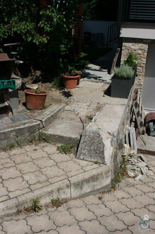 Úprava/rekonstrukce venkovních betonových schodů + pokládka dlažby: Canon_12.5.14_004
