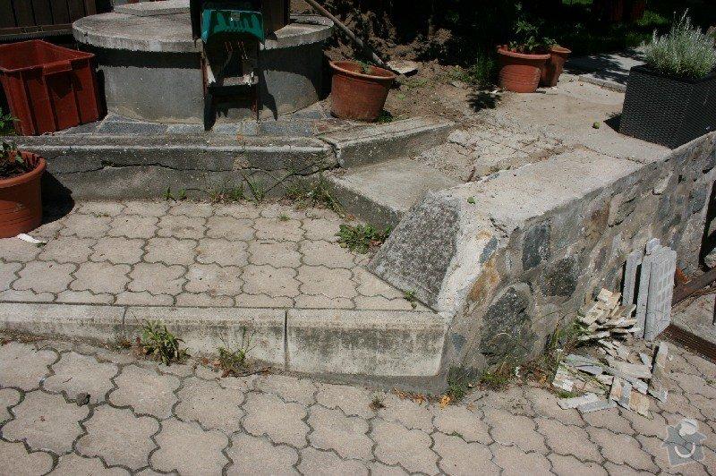 Úprava/rekonstrukce venkovních betonových schodů + pokládka dlažby: Canon_12.5.14_005
