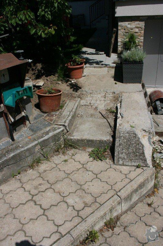 Úprava/rekonstrukce venkovních betonových schodů + pokládka dlažby: Canon_12.5.14_007