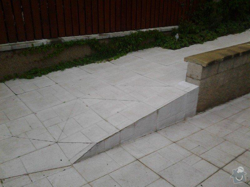 Úprava/rekonstrukce venkovních betonových schodů + pokládka dlažby: 2013-09-03_19.19.12