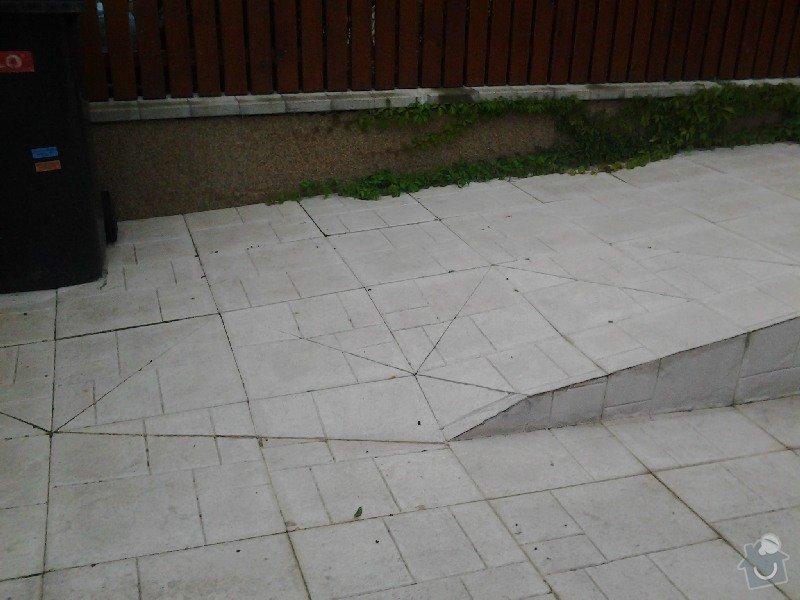 Úprava/rekonstrukce venkovních betonových schodů + pokládka dlažby: 2013-09-03_19.19.30