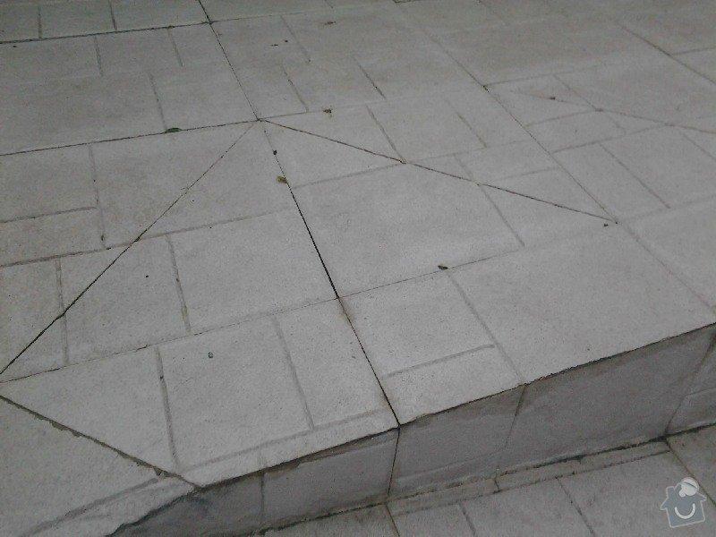 Úprava/rekonstrukce venkovních betonových schodů + pokládka dlažby: 2013-09-03_19.22.04