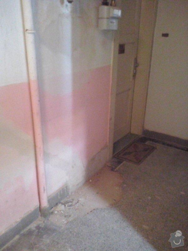 Opravu terazzové podlahy: CAM01090