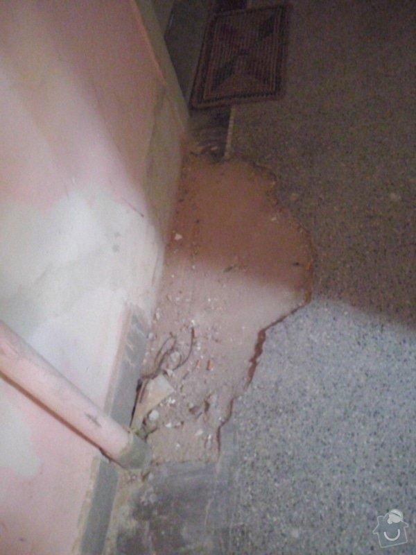Opravu terazzové podlahy: CAM01091